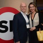 Laurence Reinisch, da Brazil Travel Market, e Luciane Leite, da WTM-LA