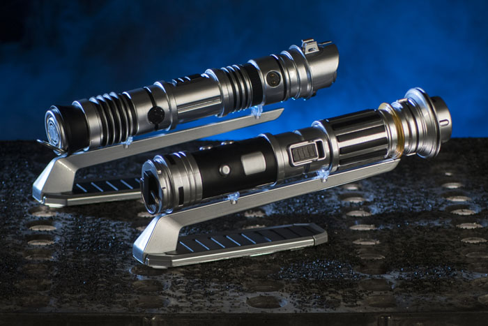 At Savi's Workshop - Handbuilt Lightsabers in Star Wars: Galaxy's Edge at Disneyland Park in Anaheim, California and at Disney's Hollywood Studios in Lake Buena Vista, Florida, guests will be able to build their own lightsaber, guided by ancient wisdom but crafted by the choices they make on their own adventure. Each build will begin with a personal connection to a kyber crystal used to ignite the custom lightsaber. (David Roark/Disney Parks)