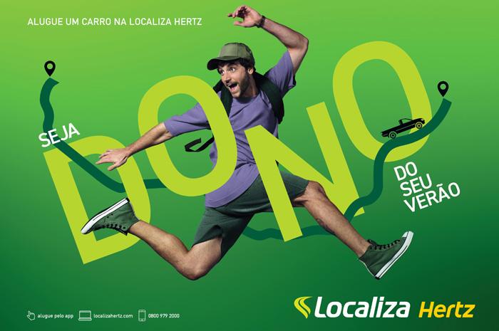 Localiza anuncia nova campanha publicitária para férias de verão