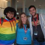 Lucas Alves (Estúdio Turismo), Fabiane Galdino (Pique Viagens) e Bruno Amstalden (Escultur Turismo)