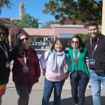 Lucas Alves (Estúdio Turismo),Fabiane Galdino (Pique Viagens), Silze Exposto (Sig Tur Viagens), Giovana Gerônimo (Casagrande Turismo) e Bruno Amstalden (Escultur Turismo)