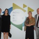 Luigi Rotunno e Renata Righi, do La Torre, com Rosa Masgrau e Roy Taylor, do M&E