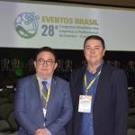 Manoel Linhares, da ABIH Nacional; e Eliseu Barros, da ABIH-CE