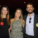 Marcela Pimenta, da OMT e do Turismo 360, Cristiane Muller, do Maranhão, e Bruno Wendling, presidente do Fornatur e da Fundtur-MS