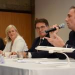 Markus Binkert, Anette Taueber, Vinicius Lummertz, e Tom Maes