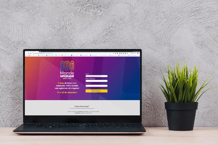 Monde Upgrade Online está com as inscrições abertas