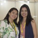 Natecia Alves e Helen Souza, do Gran Mareiro Hotel