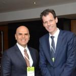 Nelson Oliveira, da Alitalia, e Ronei Glazmann, da Secretaria de Aviação Civil