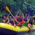 O passeio de bote no Ecopark custa a partir de R$136 por pessoa