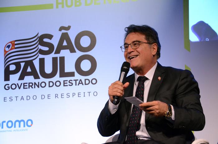 O secretário estadual de Turismo em São Paulo, Vinicius Lummertz foi um dos painelistas