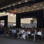 Público participa da abertura do Congresso Abeoc