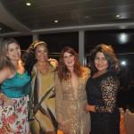 Paula Vargas, da AquaRio, Michelle Dutra, da Mib Tur, Bruna Bilbao e Danielle Xavier da Tur Mundi
