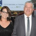 Paulo Angeli, do FIT Cataratas, com sua esposa Mira Angeli