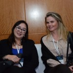 Perola Tanaka e Paula Milos da American Airlines