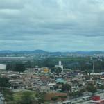 Prédio tem vista panorâmica de boa parte da cidade, como o Mineirão ao fundo