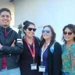 Rafael Carneiro (Trend), Paula Gonçalves (Espaço Turismo), Jamile Abus (Tessatour) e Jae Sen Lan (O Viajante Turismo)