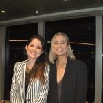 Raquel Melo, da Trevole Viagens e Isabele Brescancin, da Viaje Online Turismo