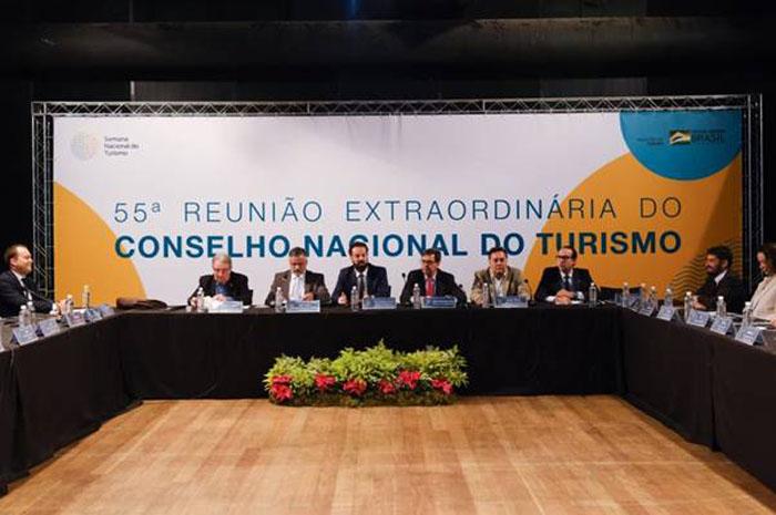 Reunião do Conselho Nacional de Turismo,em Belo Horizonte