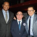 Roberto Silva, da Ernanitur, Manoel Linhares, da ABIH Nacional, e Elpídio Nogueira, secretário de Direitos Humanos e Desenvolvimento Social de Fortaleza