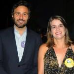 Rodrigo Novaes, secretário de Turismo de Pernambuco, e Ana Paula Vilaça, secretária de Turismo de Recife