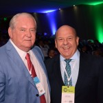 Roy Taylor e José Roberto Trinca da American Airlines