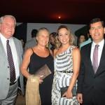 Roy Taylor e Rosa Masgrau, do M&E, com Caissa Moura e Claudio Tinoco, de Salvador