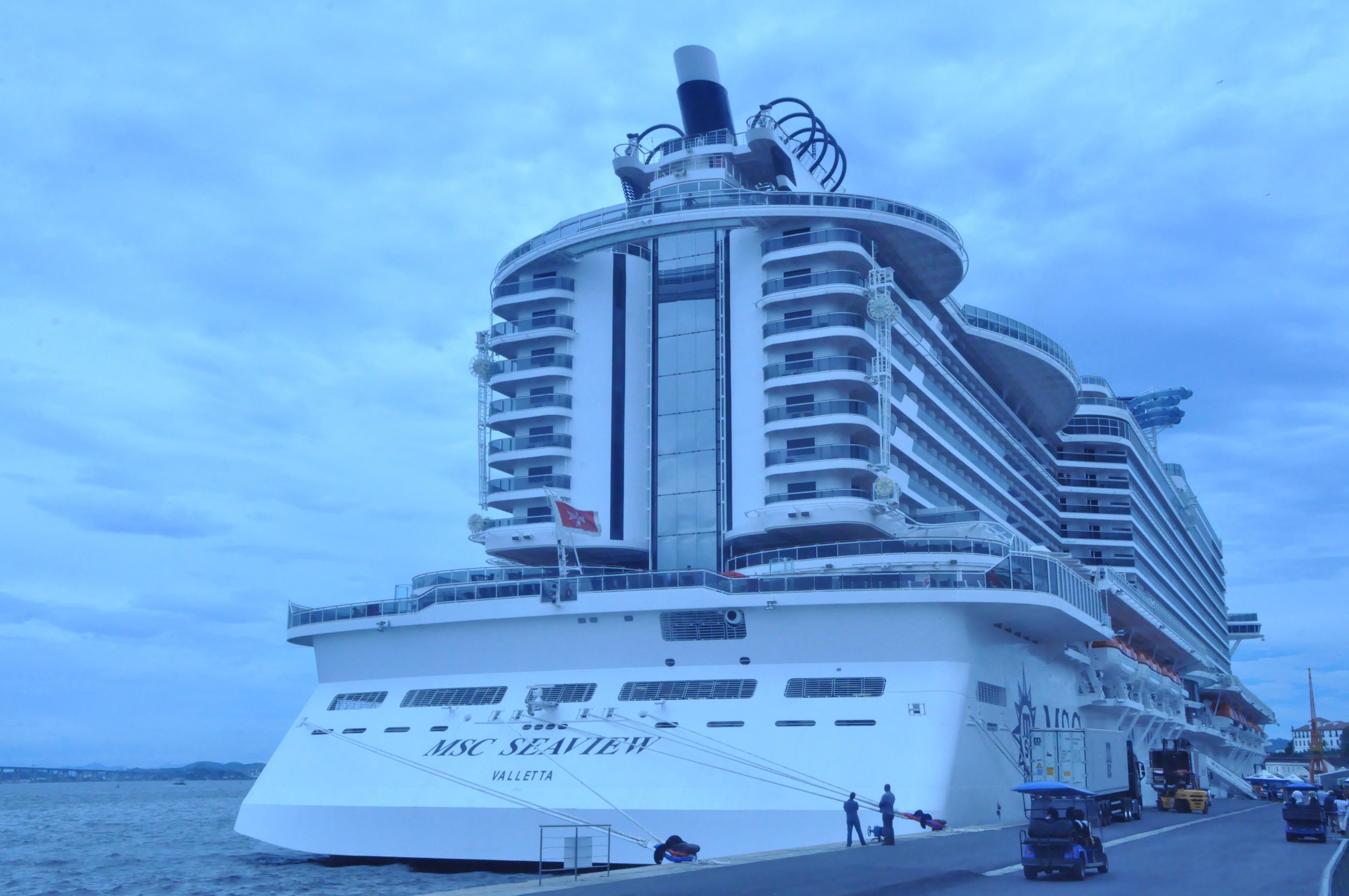 MSC Seaview no Rio de Janeiro