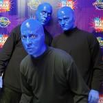 Segundo dia do fam tour da Universal terminou com apresentação do Blue Man Group
