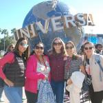 Thaísa Melo (Alta Estação Turismo), Marília Bruno (Staff da Amazônia), Tiana Lopes (BWT Operadora), Larissa Pacheco (Fly World) e Regiane Maciel (Viatori Tur)
