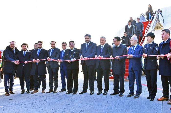 Turkish Airlines inaugura novos voos para a cidade chinesa Xian