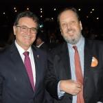 Vinicius Lummertz, secretário de Turismo de SP, e Eduardo Sanovicz, presidente da Abear