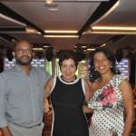Wenderson Almeida, da WR Viagens, Grassia Issa, da GD Turismo de BH e Rosely Almeida da WR Viagens