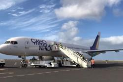 Cabo Verde recebe terceira aeronave com nova imagem da companhia