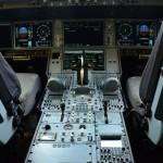 Cabine do piloto do Airbus A350-900
