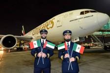 Emirates inaugura seu primeiro voo para o México