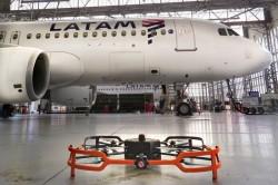 Latam testa drone para inspeção de aeronaves
