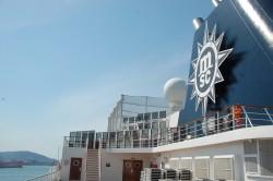 MSC anuncia novidades para temporada 2020/21 no embarque inaugural em Itajaí (SC)