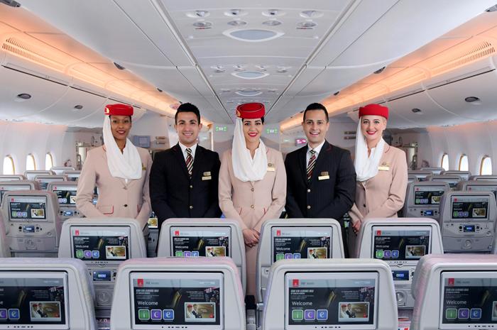 A Emirates também levou o prêmio de Companhia Aérea Líder do Mundo em Classe Econômica na grande final