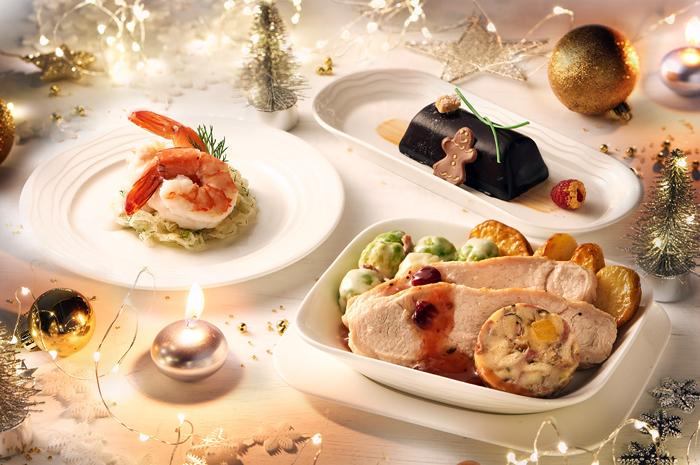 Até o dia 31 de dezembro, os passageiros da Primeira Classe e Classe Executiva terão cardápio, entretenimento e serviço diferenciado para comemorar a época natalina