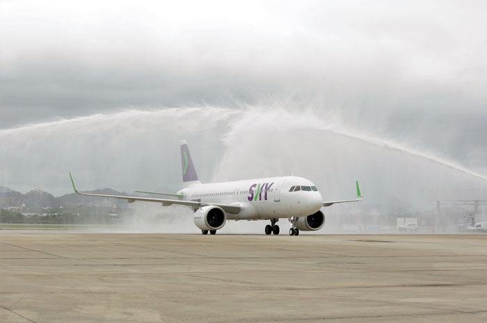 O novo destino faz parte da rota internacional da Sky Airlines