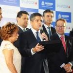 ACM Neto, durante coletiva, fez uma homenagem a Paulo Gaudenzi