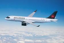 Air Canada celebra a chegada do primeiro Airbus A220