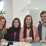 Andréa Revoredo, do Rio CVB, com Ana Cazelato, Leila Holsbach e Marcos Alvite, da Secretaria de Turismo do Rio de Janeiro