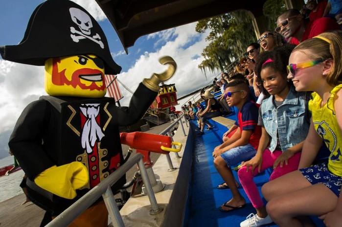 Ano Pirata na Legoland Florida Resort é um dos atrativos de Kissimee em 2020