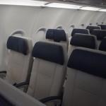 Assentos revestidos de couro para maior conforto dos passageiros