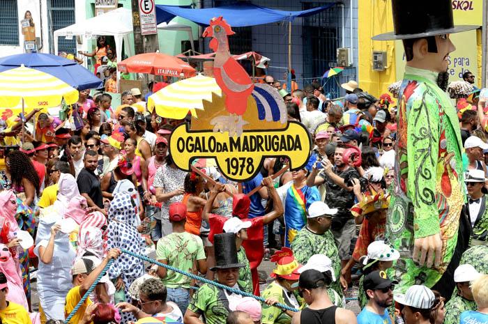 Bloco Galo da Madrugada percorre as ruas de Recife (Foto: Ministério da Cultura)