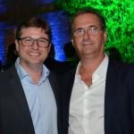 Bob Rossato, do Viajanet, e Helvécio Garófalo, da Confiança