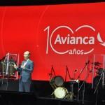 CEO da Avianca, Anko van der Werff, na festa de 100 anos da Avianca