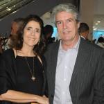 Conor John, presidente da Associação das Agências Operadoras de Receptivos da Bahia, com sua esposa Clelia Aquino
