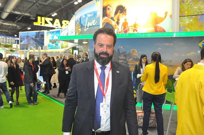 Daniel Nepomuceno, secretário-executivo do Ministério do Turismo